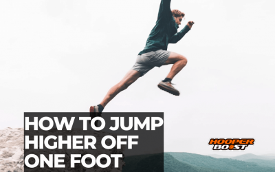 How to jump higher off one foot