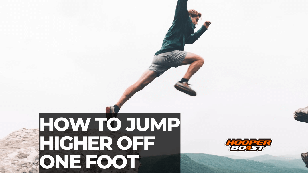 training to jump higher off one foot