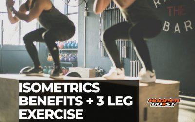 Isometrics training benefits & 3 exercises for athletic legs
