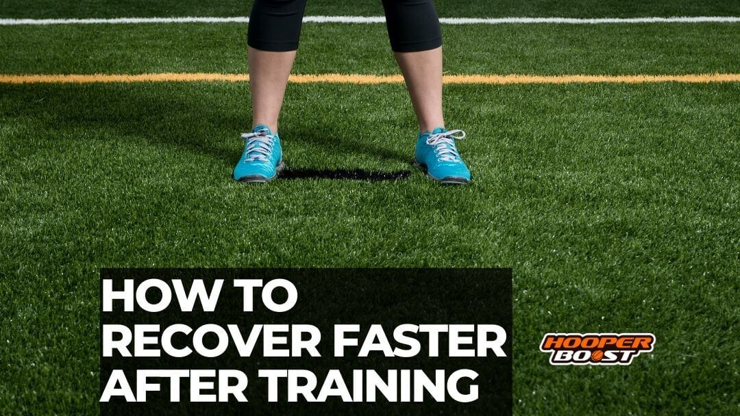 learning to recover faster after training