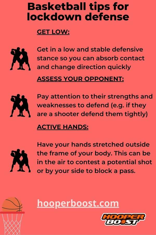 tips to be a lockdown defender