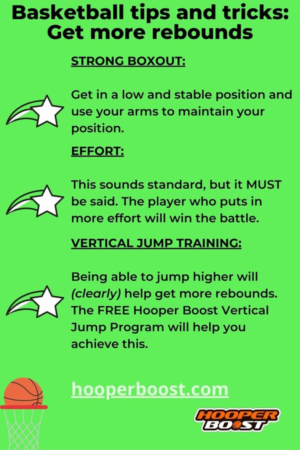 basketball tips to be a better rebounder