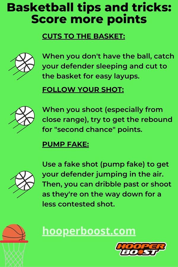 basketball tips and tricks to score more points