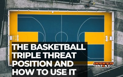 The basketball triple threat position and how to use it