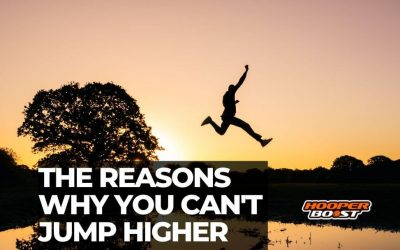 The reasons why you can't jump higher