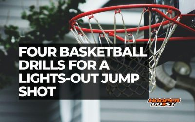Four basketball shooting drills for a lights-out jump shot