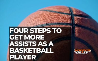 Four steps to get more assists as a basketball player