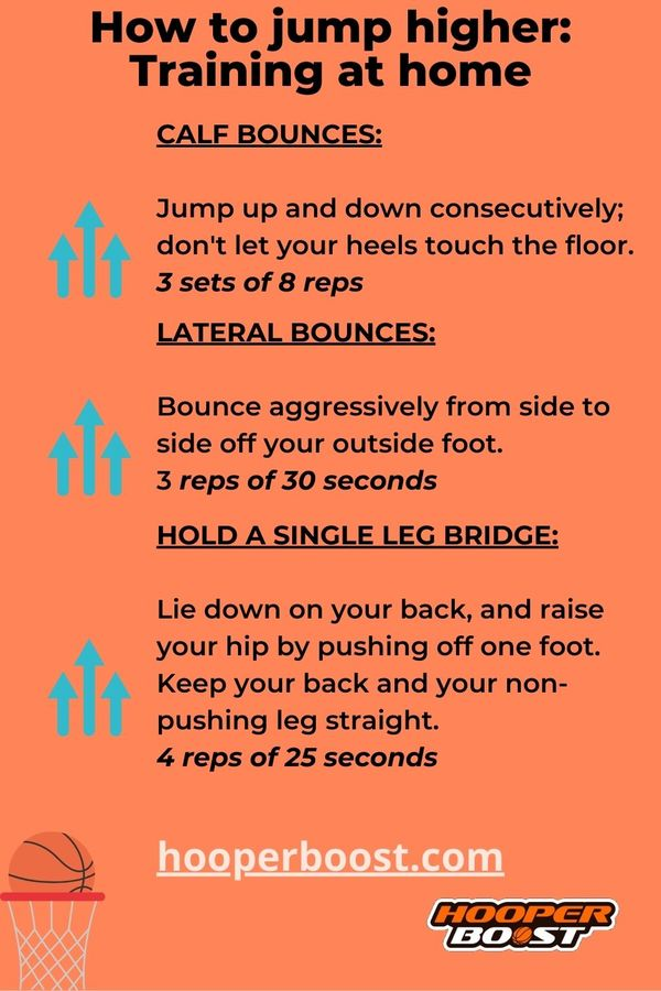 exercises to jump higher from home