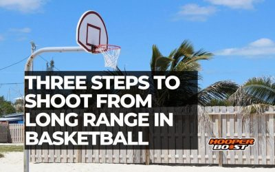 How to shoot from long range in basketball (three steps)