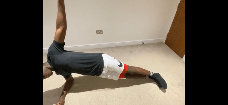 core exercises: side plank