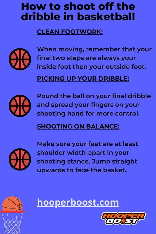 basketball tips to shoot off the dribble